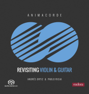 Animacorde  es un duo de  violín y guitarra formado por el violinista Andrés Ortiz y el guitarrista Pablo Rioja