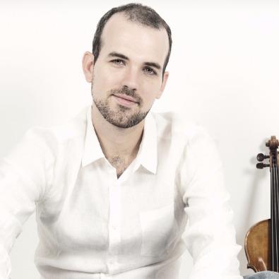 Andrés Ortiz - Violín. Violinista componente del duo de música clásica Animacorde
